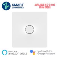 Aurora AOne Smart 1 Gang 250W LED Dimmer Switch