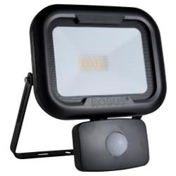 Robus REMY 20W LED Floodlight with Motion Sensor PIR Black