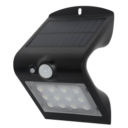 Robus SOL 1.5W LED Solar Wall Light with PIR