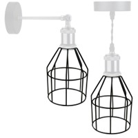 BELL Lighting Vintage Cage Gunmetal Black
