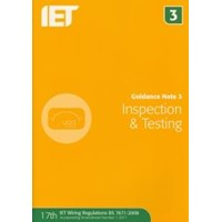 IET Inspection & Test Guidance Note 3