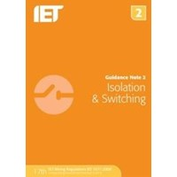 IET Isolation & Switching Guidance Note 2