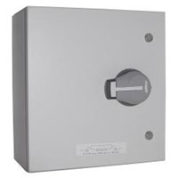 Hager 63A 3 Pole + Neutral Fused Steel Combination Switch