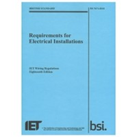IET Electrical Installation Requirements 18th Edition (2018)
