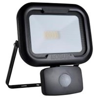 Robus REMY 10W LED Floodlight with Motion Sensor PIR Black