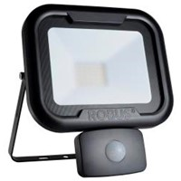Robus REMY 30W LED Floodlight with Motion Sensor PIR Black