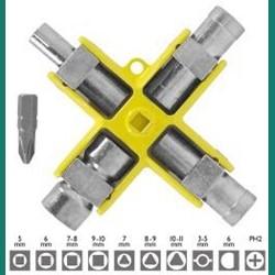 CK t4451-2 Universal Cross Key Wrench 9 in 1